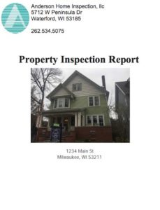 2018 Home Inspection Report
