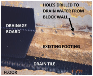 drain tile inspection