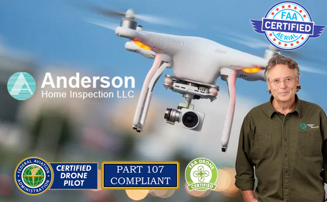 donn anderson home inspection drone faa certified pilot